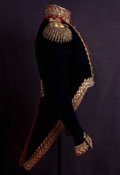 Uniform with the rank of General worn by Tsar Alexander I's, circa 1800's.