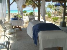 If you're coming in on a cruise for the day, this is a great substitute for a planned excursion on Grand Turk. If you walk down the beach with Margaritaville on your right, the massage cabana is just in the 2nd section - a very short walk. Ask for LaToya.