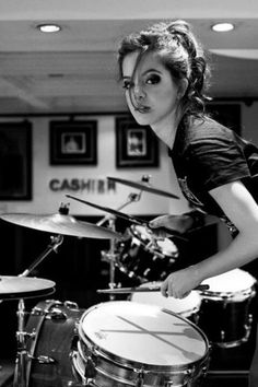 Image result for girl drummer senior pictures