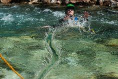 Soča August 2013 Fundamental Core See http://gene17kayaking.com/whitewater-kayaking-trips/soca-fundamental-core/