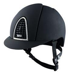 KEP Italia Cromo T Swarovski Helmet - TackNRider