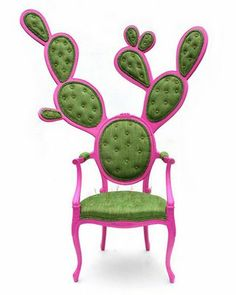 VINTAGE & CHIC: decoración vintage para tu casa · vintage home decor: Silla cactus [] Cactus chair