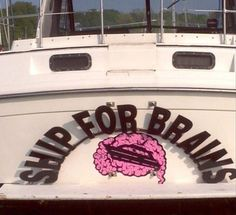 clever funny boat names 13 There are some clever boat names out there Photos) Clever Boat Names, Funny Boat Names, Best Boats, Cool Boats, Name Pictures, Funny Pictures, Funny Pix, Funny Signs, Wakeboard Boats