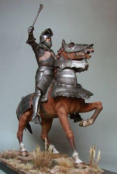 Medieval Knight - Virtual Museum of Historical Miniatures Medieval Knight, Medieval Armor, Medieval Fantasy, Knight On Horse, Knight Art, Crusader Knight, Virtual Museum, Arm Armor, Fantasy Miniatures