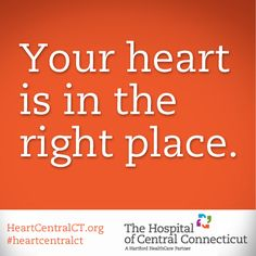 The new Women's Heart Center at The Hospital of Central Connecticut coordinates everything from risk assessment and screening to state-of-the-art treatments, ongoing health management, rehabilitation and more. #heart #health #hearthealth