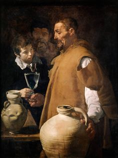Diego Velázquez, « The Water Seller of Seville » (1622). Photo: English Heritage The clarity of the cup gets me every time