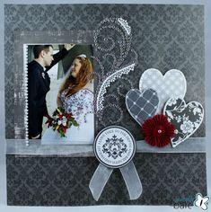 Wedding Layout by Beth Gaddis
