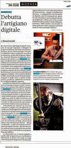 CRISTEL ISABEL MARCON | Designer: MEDIA&PRESS #master #ied #milano #samsung #digitalfabrication #ilsole24ore #moda #fashion