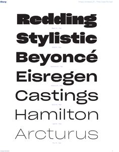 Sharp Type is a new, independent type foundry Beyonce, Hamilton, Roman, It Cast, Math Equations, Fonts, Room Ideas, Shapes, Type