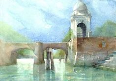 "Kurse: Aquarell ""Intensiv"" - La Pelote - 2700 Wr. Neustadt Cover Photos, Painting, Watercolor Painting, Painting Art, Paintings, Painted Canvas, Drawings"