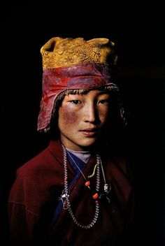 "mysleepykisser-with-feelings-hid: "" Tibet 2005 Steve McCurry ***This is part of my art side-blog ""The–Elusive–Muse"" """