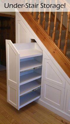 Stair Drawers, Under Stairs Drawers, Under Stairs Cupboard, Diy Drawers, Cupboard Drawers, Staircase Storage, Stair Storage, Hidden Storage, Secret Storage