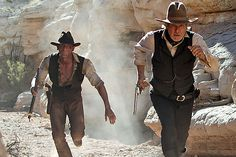 Why Did Cowboys & Aliens Fail… Or did it? Filmed in New Mexico Fiction Movies, Science Fiction, Cowboys & Aliens, Brian Grazer, Johnny D, Blockbuster Film, Entertainer Of The Year, Aliens Movie, Two Movies