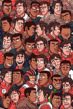 """clumzyjr: """" Hello, I made a FinnPoe wallpaper, that I will also be selling at fanime! Star Wars Clone Wars, Star Wars Art, Finn Poe, Pokemon, Star Wars Love, Star Wars Ships, Cute Stars, The Force Is Strong, Obi Wan"""