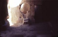 Casa nella roccia. Cappadocia. Turchia.