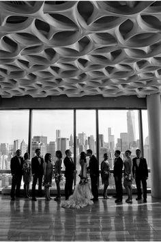 Great Group Shot / New York City Wedding at Trump SoHo / Maya Myers Photography / via StyleUnveiled.com