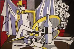 Roy Lichtenstein, 'Still Life with Palette,' 1972, Gagosian Gallery