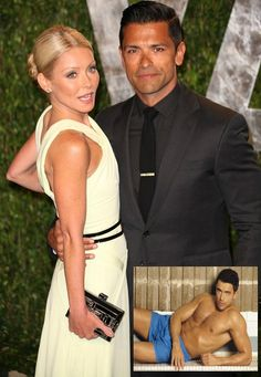 Kelly Ripa Confession: Mark Consuelos a Former Stripper Jossip - Kelly Ripa Mark Consuelos, Hot Hunks, Man Candy, Famous Faces, Vanity Fair, Confessions, Celebrity News, Interview, Glamour