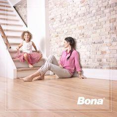 Confìa en #Bona a la hora de mantener tus #pisosdemadera en buen estado y relucientes