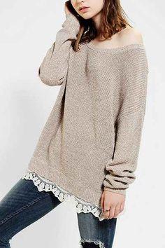 Trimmed Sweaters - Jillian Harris
