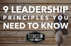Leadership. Without it organizations crumble, potential is never met, people are left puzzled and frustrated, and everything suffers. But with a strong leader, what can be accomplished is limitless…
