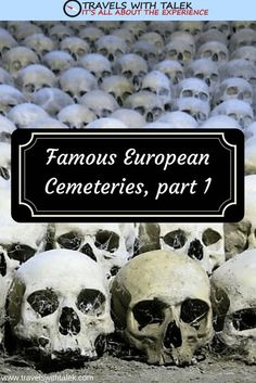 Many European cemeteries are famous for their stunning funerary statuary, others for their landscaped grounds. Still, others are lauded for the whimsical humor on the tombstones. #travel