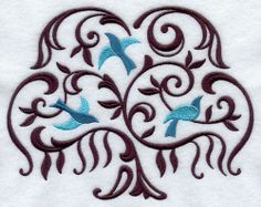 celtic willow. Maybe a future tattoo with blue birds for boys and maybe butterflies for girls... (that is if I have any) or a different color for each child would be cute too!