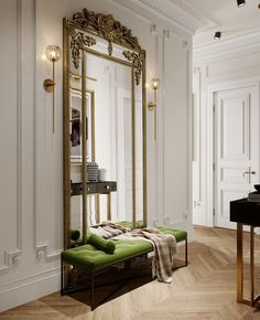 Classic Interior, Home Interior Design, Interior Architecture, Kitchen Interior, Design Entrée, House Design, Design Ideas, Design Trends, House Rooms