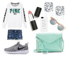 """""""Florida #2"""" by kayla-rogers123 on Polyvore featuring Victoria's Secret, J.Crew, Apt. 9, Sigma Beauty and Le Specs"""