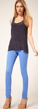 cornflower blue jeans