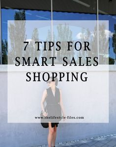 smart sales shopping tips