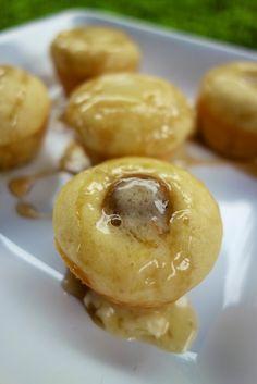 Sausage Pancake Muffins | Plain Chicken Mini muffin pan - cut sausage in the pancake batter and bake 10-12 min