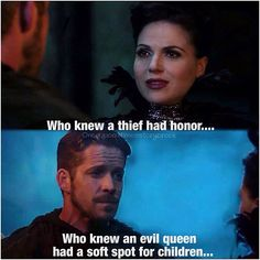 Regina  Robin episode 13. That's it. After Rumbelle, OutlawQueen is officially my next favorite ship! XD