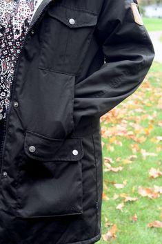 Autumn and Winter Essentials ft. Fjallraven Canada Winter Parka, Winter Essentials, Hooded Parka, Raincoat, Canada, Autumn, Rain Jacket, Fall Season