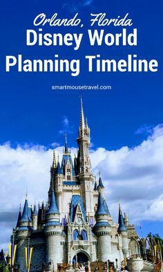 Planning a trip to Disney World? I have made a detailed Disney World Planning Timeline (with tips and tricks) to help you navigate the steps in this process. #disney #disneyworld #disneyplanning