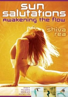Available in: DVD.Shiva Rea leads this at-home yoga program based the Sun Salutation variety of yoga postures, meant to channel the sun's vitality. Shiva Rea, Yoga Sun Salutation, Meditation For Health, Yoga Flow Sequence, Upward Facing Dog, 1 Gif, Yoga Videos, Exercise Videos, Weight Loss Plans