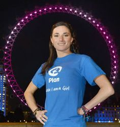 Britain's greatest ever Paralympian Sarah Storey OBE is supporting Plan UK's activities marking the first ever UN International Day of the Girl on 11th October 2012. It