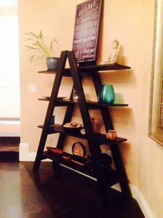 Ladder Shelf | Do It Yourself Home Projects from Ana White