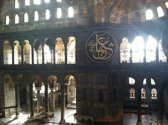 Hagia Sophia late afternoon. Sultanahmet, Istanbul.