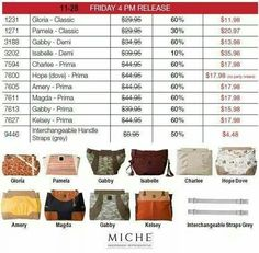 More items available for Black Friday from Miche at a great savings stay tuned for more items all weekend long.  Shop under November party at my link at: https://sandrasgotmy.miche.com