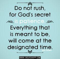 Ten paciencia