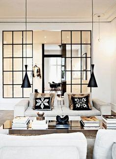 HomePersonalShopper. Blog decoración e ideas fáciles para tu casa. Inspiraciones y asesoría online. : Paredes interiores de vidrio