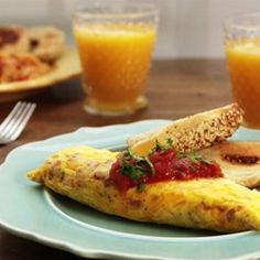 Omelet in a Bag - Allrecipes.com. This would be great for camping. They're made in ziploc bags. Great idea! Also fun breakfast to make with kids