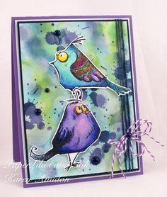 Tim Holtz Crazy Birds