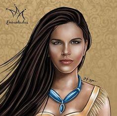 Glacê com Pimenta: Artista transforma famosas brasileiras em princesas da Disney