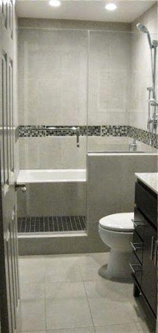 Bath Tub In Shower Wet Room Bathroom Remodel With Images Small Bathroom Remodel Designs Bathroom Remodel Master Tub Remodel