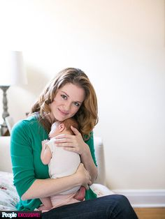 Sarah Drew, actress on Grey's Anatomy, shares the story of her daughter Hannah's unexpected early birth. #preemie #celebrity
