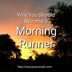Reasons why you should become a morning runner