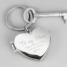 Personalised Photo KeyringsShow that special someone how much you care with a personalised photo keyring.This keyring can be personalised with any name up to 12 characters and any message over 2 lines, with 20 characters per line. Please include . Personalised Keyrings, Personalized Valentine's Day Gifts, Photo Keyrings, Photo Heart, Happy Anniversary, Happy Mothers Day, Valentine Day Gifts, Gifts For Her, Characters