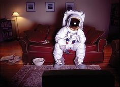 this reminds me of you and your obsession with astronauts.